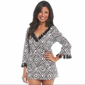 Mud Pie Tassel Tunic / Cover-up